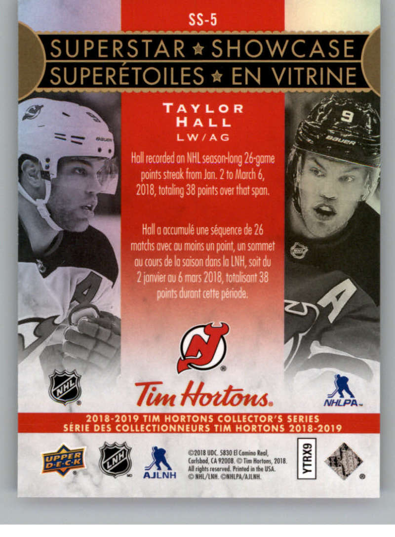 2018-19-Upper-Deck-Tim-Hortons-NHL-Hockey-Cards-Base-and-Inserts-Pick-From-List miniature 99