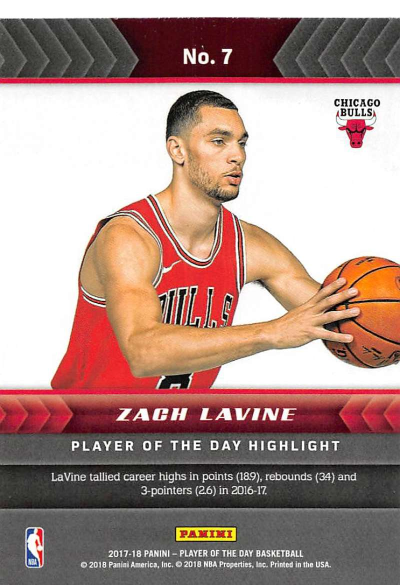 2017-18-Panini-Player-of-the-Day-NBA-Basketball-Cards-Pick-From-List thumbnail 15