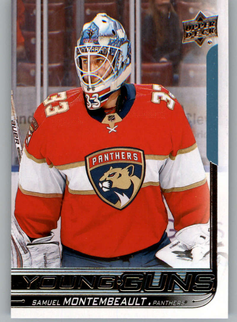 2018-19 Upper Deck Hockey Card #242 Samuel Montembeault Florida Panthers  Official UD Trading Card