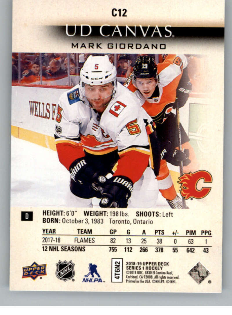 2018-19-Upper-Deck-Canvas-18-19-UD-Series-One-Hockey-Cards-Pick-From-List miniature 11
