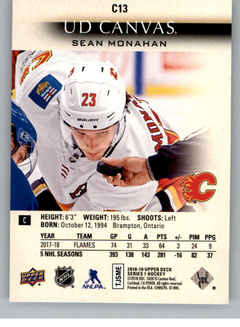 2018-19-Upper-Deck-Canvas-18-19-UD-Series-One-Hockey-Cards-Pick-From-List miniature 13