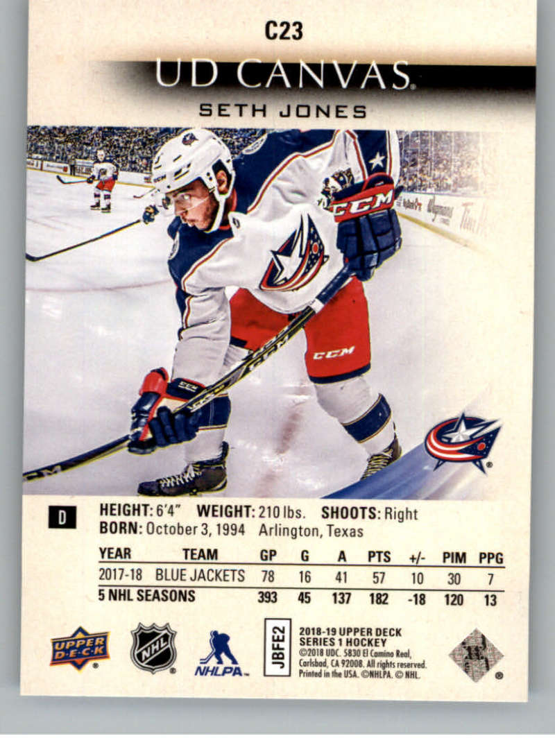 2018-19-Upper-Deck-Canvas-18-19-UD-Series-One-Hockey-Cards-Pick-From-List miniature 25