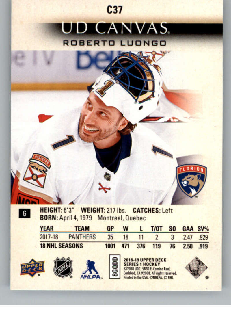 2018-19-Upper-Deck-Canvas-18-19-UD-Series-One-Hockey-Cards-Pick-From-List miniature 41