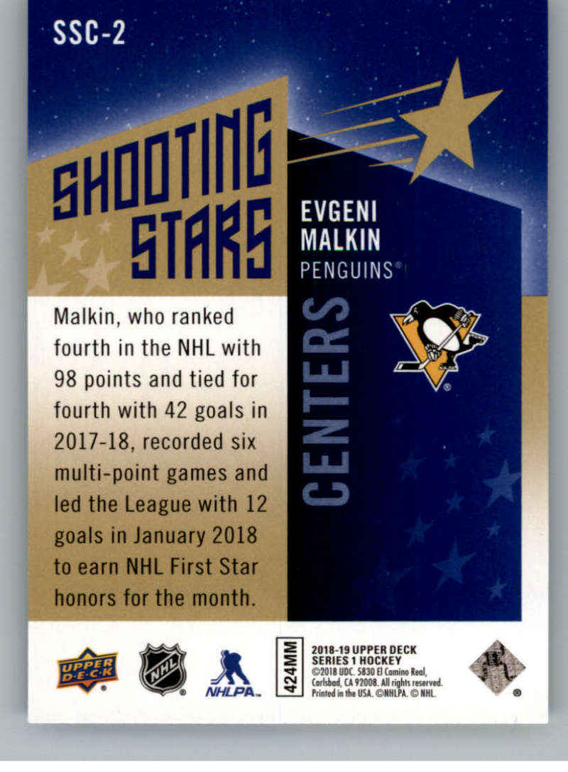 2018-19-Upper-Deck-Shooting-Stars-Blue-or-Black-Insert-Cards-Pick-From-List thumbnail 5