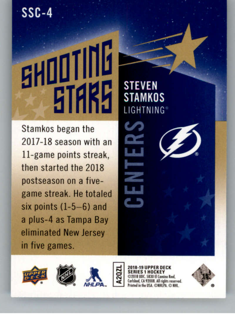 2018-19-Upper-Deck-Shooting-Stars-Blue-or-Black-Insert-Cards-Pick-From-List thumbnail 7