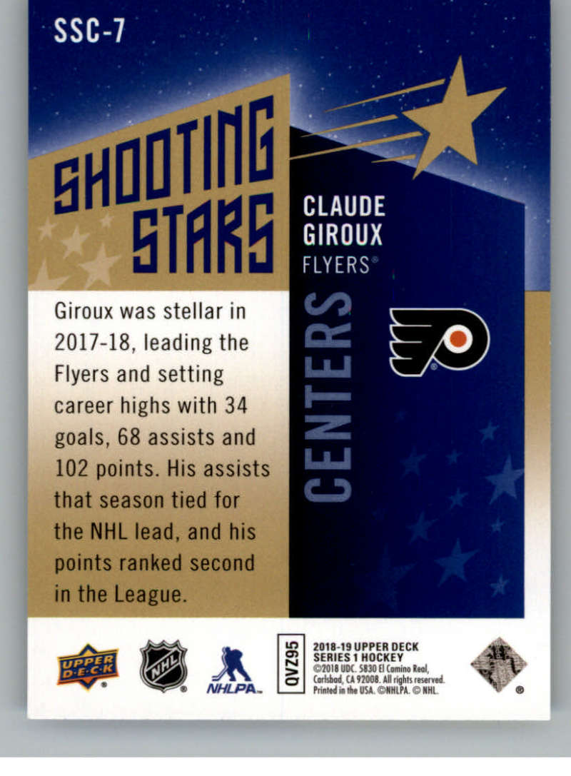 2018-19-Upper-Deck-Shooting-Stars-Blue-or-Black-Insert-Cards-Pick-From-List thumbnail 13