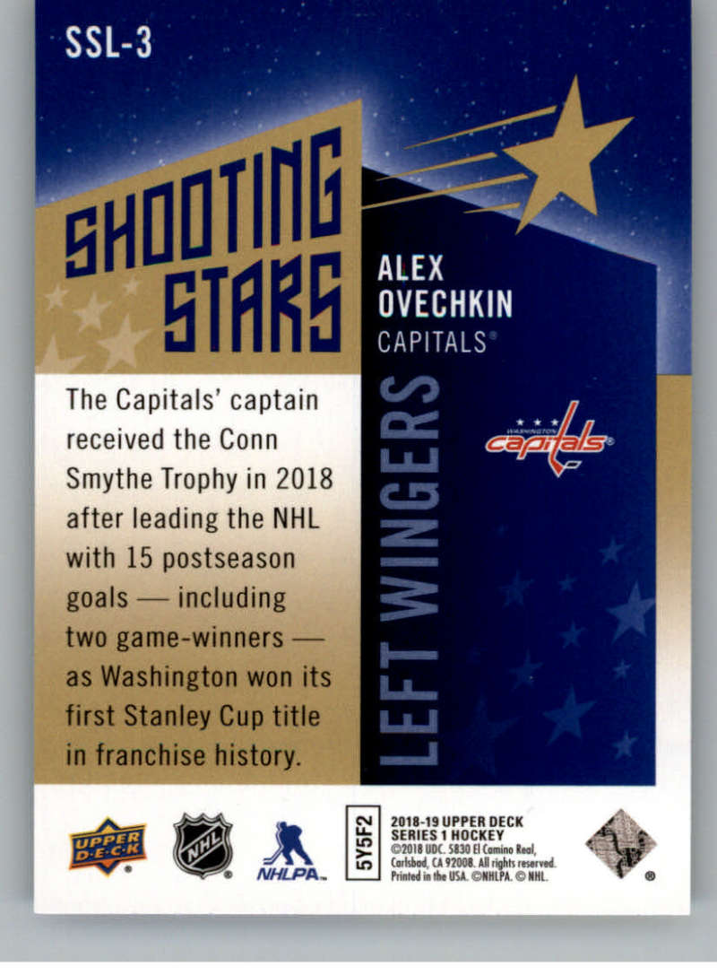 2018-19-Upper-Deck-Shooting-Stars-Blue-or-Black-Insert-Cards-Pick-From-List thumbnail 59