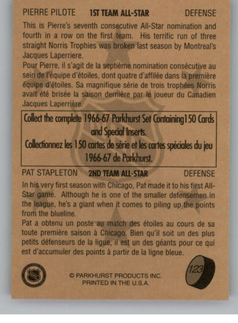 1995-96-Parkhurst-039-66-67-Hockey-Cards-Base-and-Inserts-Pick-From-List thumbnail 215