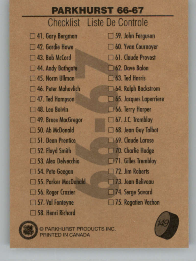 1995-96-Parkhurst-039-66-67-Hockey-Cards-Base-and-Inserts-Pick-From-List thumbnail 259