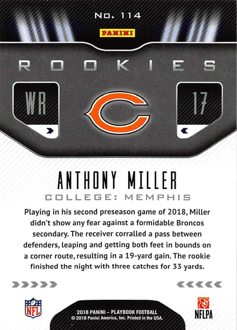 2018-Playbook-Orange-Parallel-NFL-Football-Cards-Pick-From-List miniature 65