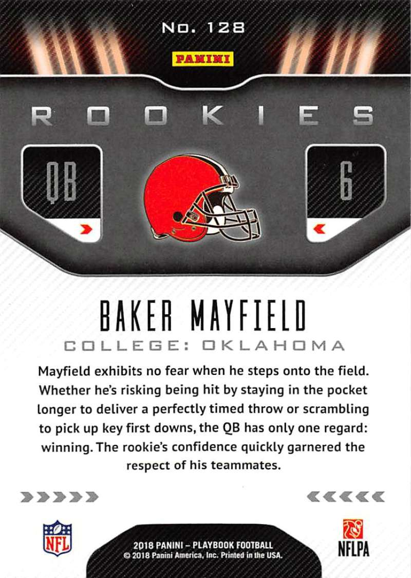 2018-Playbook-Orange-Parallel-NFL-Football-Cards-Pick-From-List miniature 75