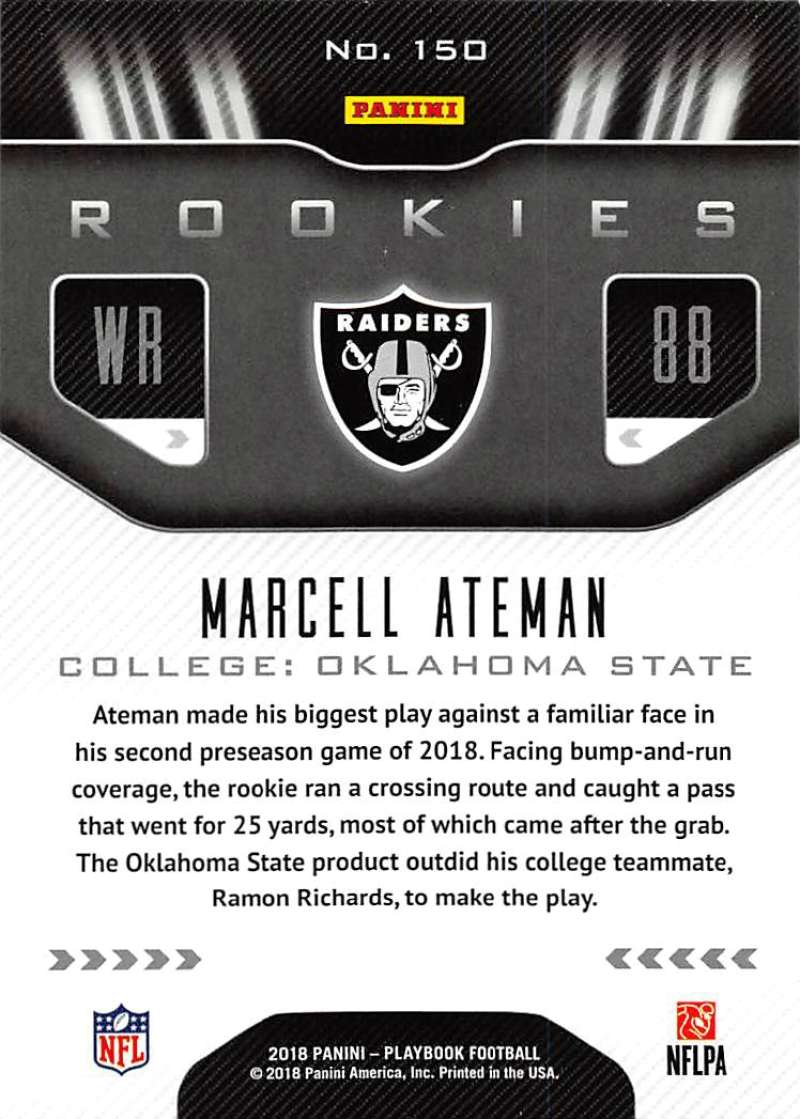 2018-Playbook-Orange-Parallel-NFL-Football-Cards-Pick-From-List miniature 89