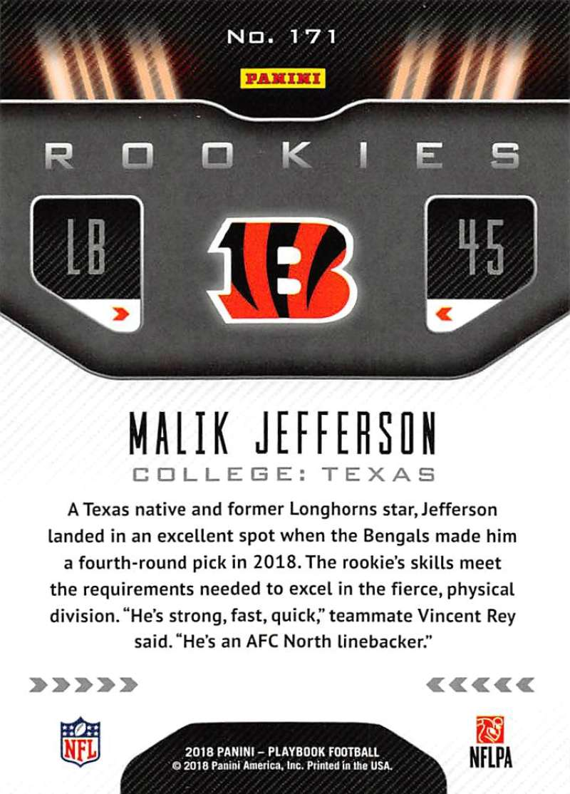 2018-Playbook-Orange-Parallel-NFL-Football-Cards-Pick-From-List miniature 105