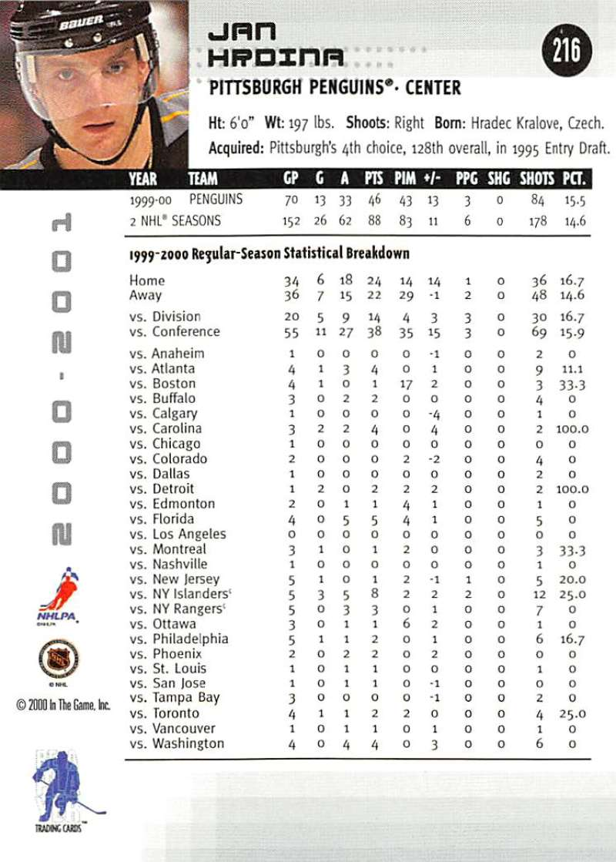 2000-01-BAP-Memorabilia-Hockey-Cards-Pick-From-List-Includes-Rookies-201-400 miniature 33