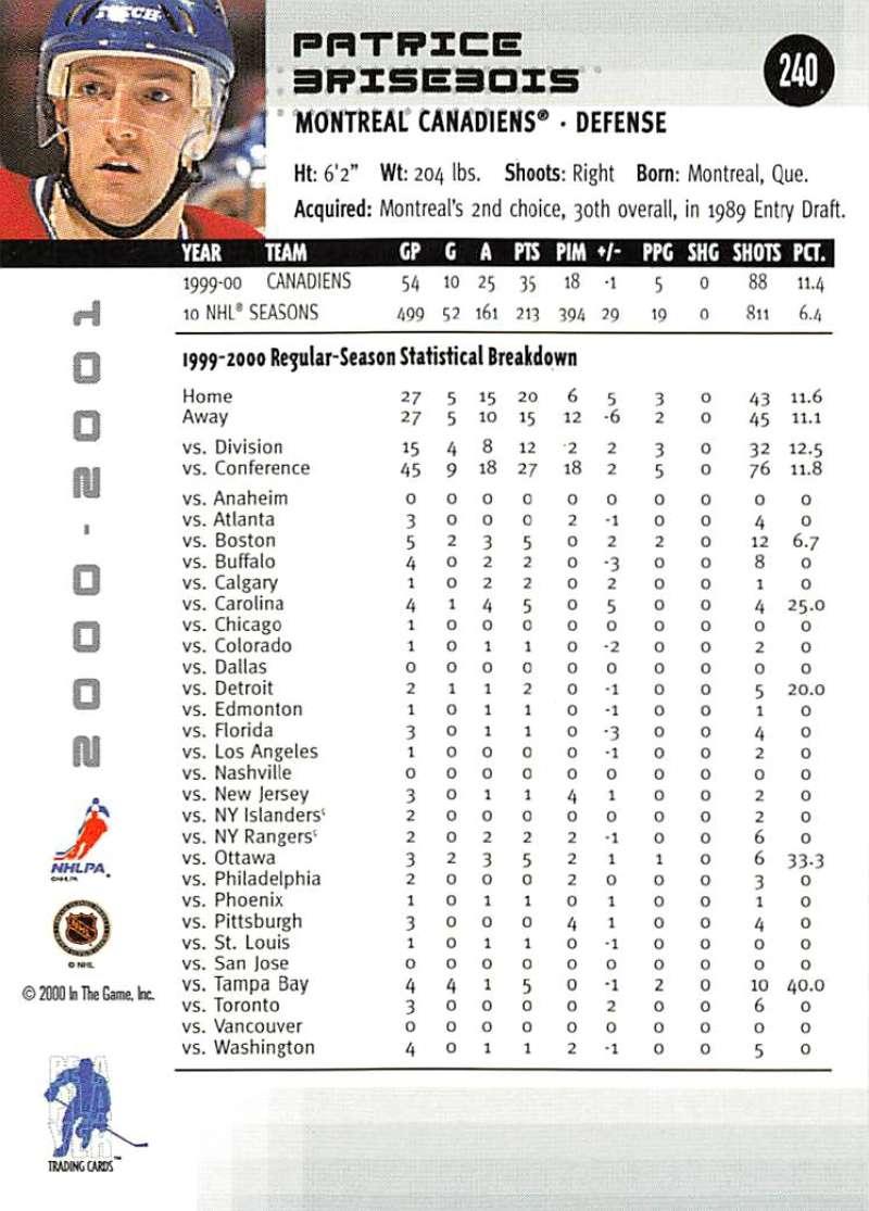 2000-01-BAP-Memorabilia-Hockey-Cards-Pick-From-List-Includes-Rookies-201-400 miniature 75