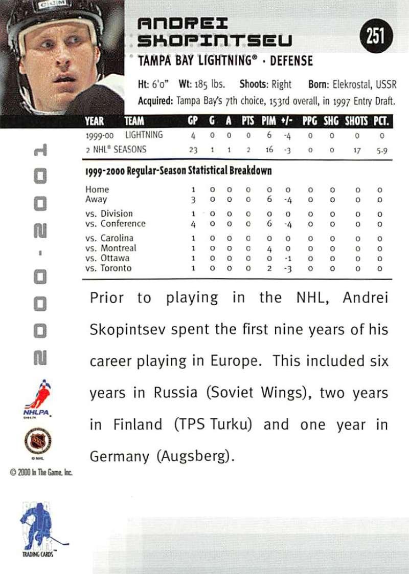 2000-01-BAP-Memorabilia-Hockey-Cards-Pick-From-List-Includes-Rookies-201-400 miniature 97