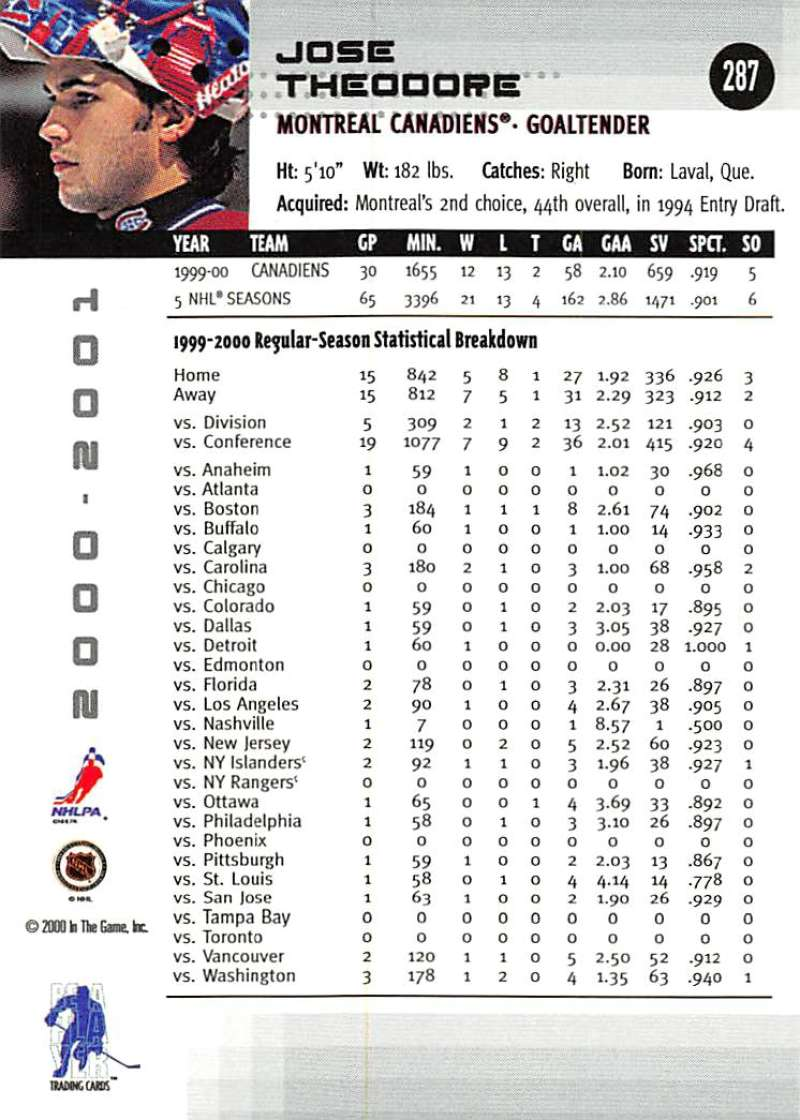 2000-01-BAP-Memorabilia-Hockey-Cards-Pick-From-List-Includes-Rookies-201-400 miniature 169