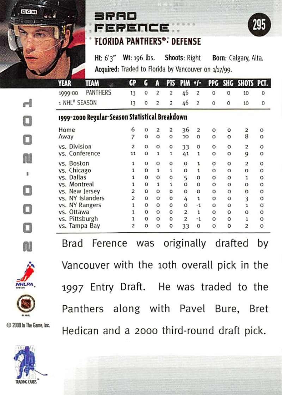 2000-01-BAP-Memorabilia-Hockey-Cards-Pick-From-List-Includes-Rookies-201-400 miniature 185