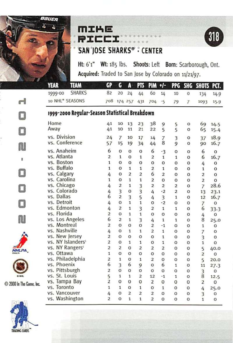 2000-01-BAP-Memorabilia-Hockey-Cards-Pick-From-List-Includes-Rookies-201-400 miniature 231
