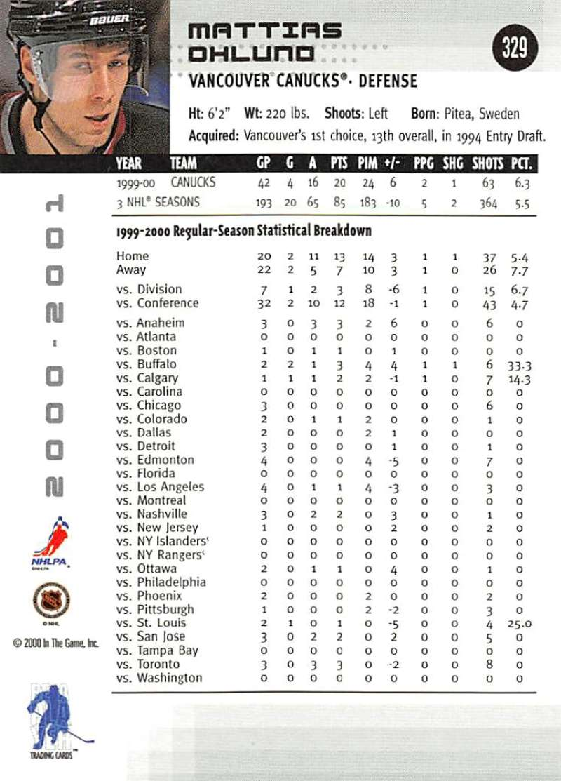 2000-01-BAP-Memorabilia-Hockey-Cards-Pick-From-List-Includes-Rookies-201-400 miniature 253