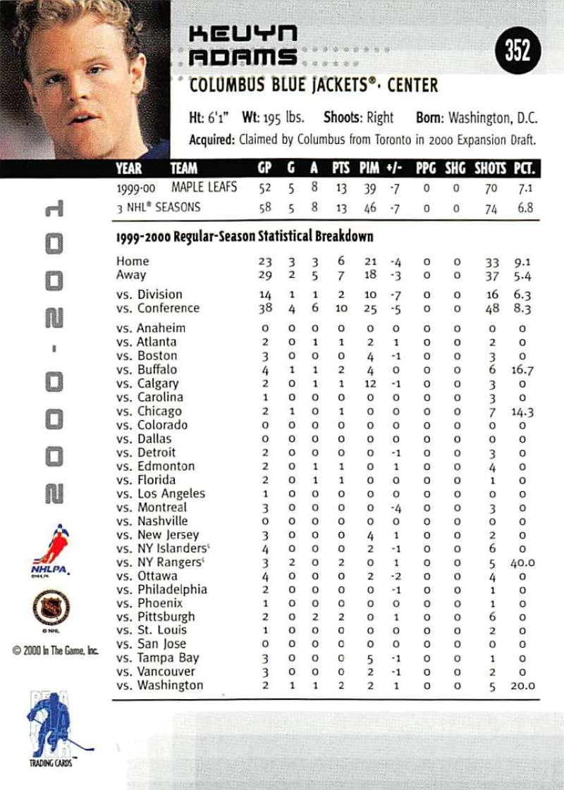 2000-01-BAP-Memorabilia-Hockey-Cards-Pick-From-List-Includes-Rookies-201-400 miniature 299