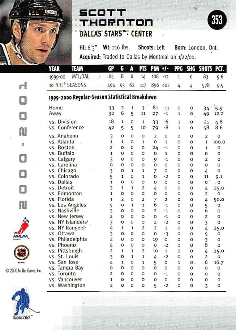 2000-01-BAP-Memorabilia-Hockey-Cards-Pick-From-List-Includes-Rookies-201-400 miniature 301