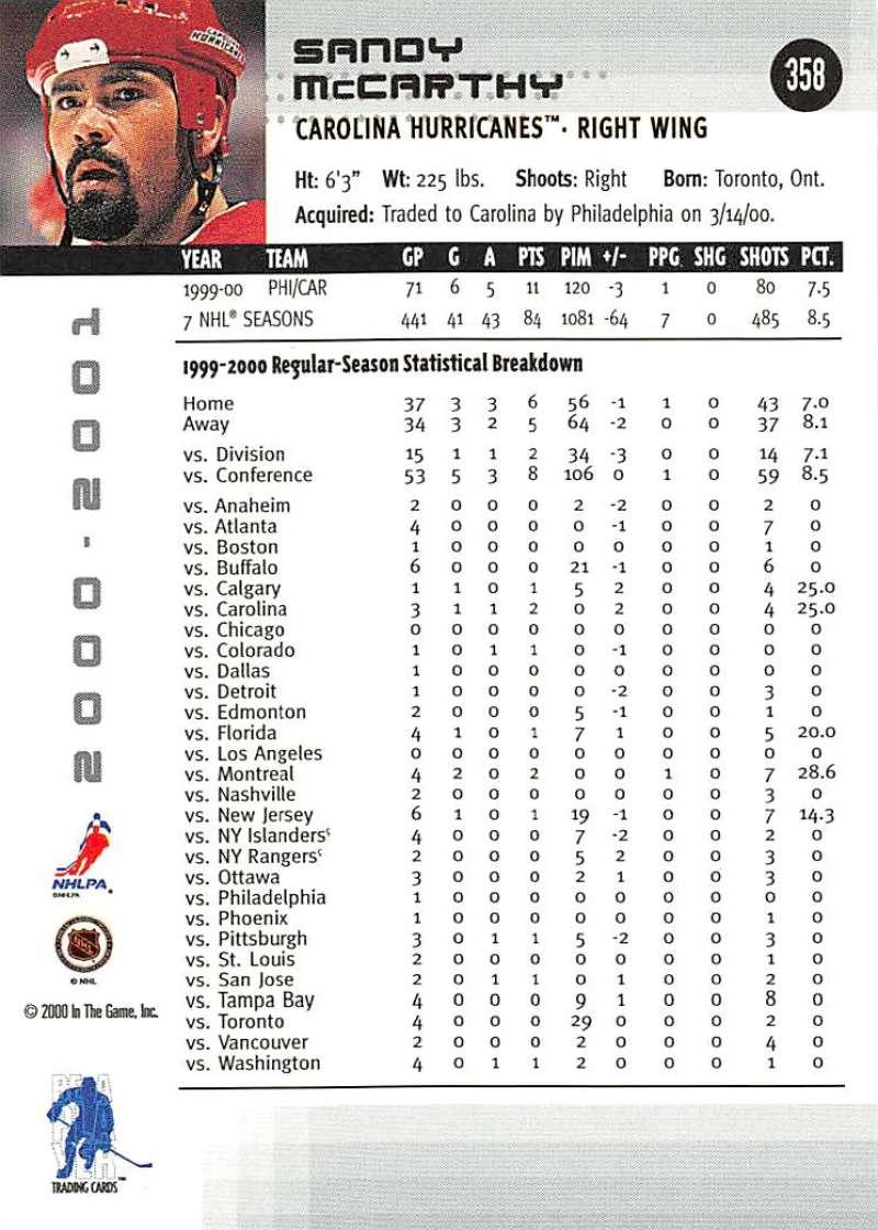 2000-01-BAP-Memorabilia-Hockey-Cards-Pick-From-List-Includes-Rookies-201-400 miniature 311