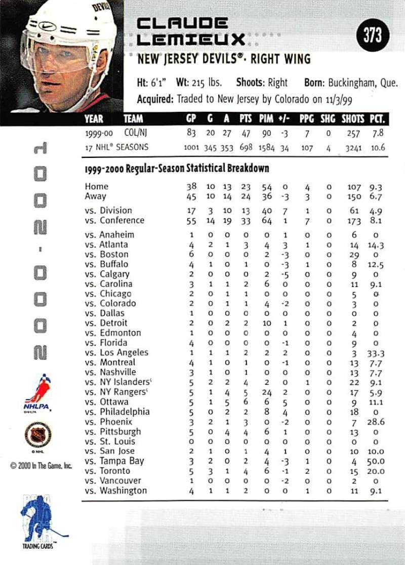 2000-01-BAP-Memorabilia-Hockey-Cards-Pick-From-List-Includes-Rookies-201-400 miniature 341