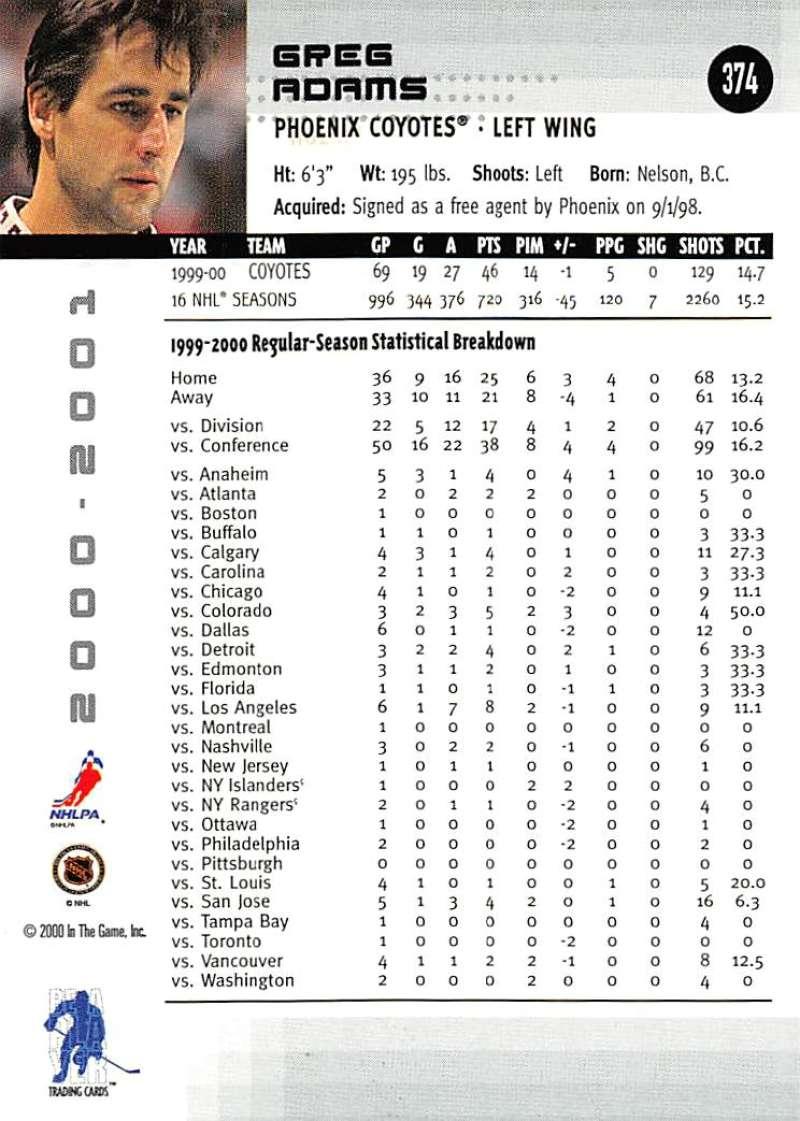 2000-01-BAP-Memorabilia-Hockey-Cards-Pick-From-List-Includes-Rookies-201-400 miniature 343