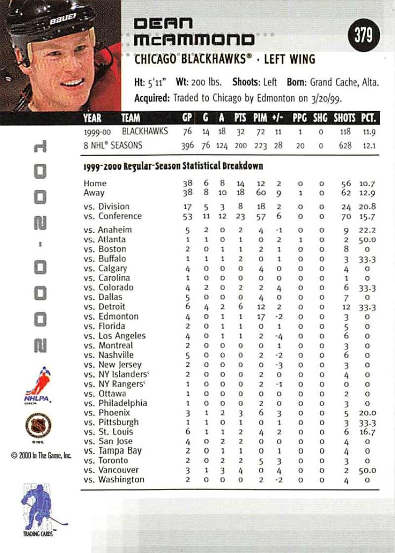 2000-01-BAP-Memorabilia-Hockey-Cards-Pick-From-List-Includes-Rookies-201-400 miniature 353