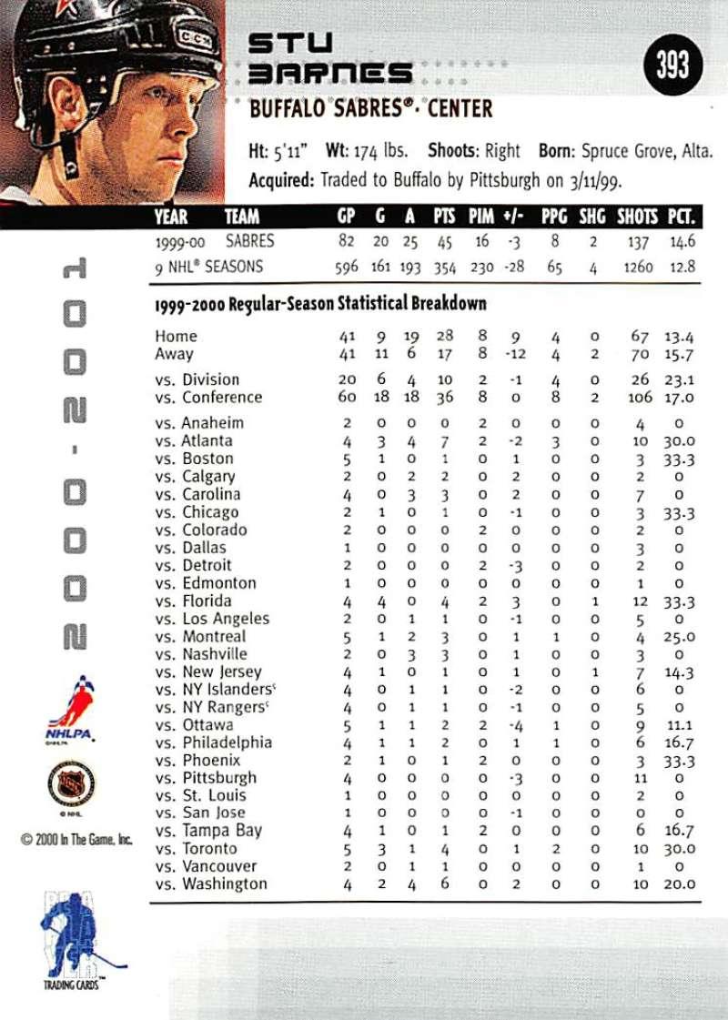 2000-01-BAP-Memorabilia-Hockey-Cards-Pick-From-List-Includes-Rookies-201-400 miniature 381