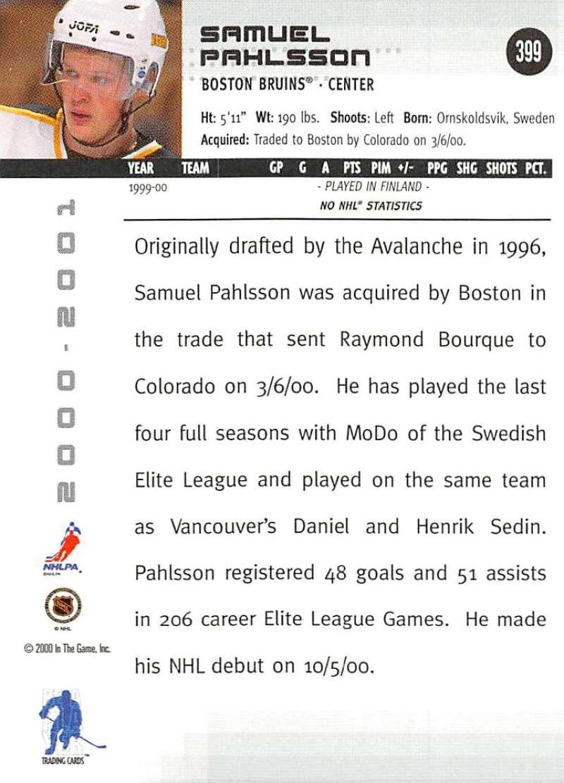 2000-01-BAP-Memorabilia-Hockey-Cards-Pick-From-List-Includes-Rookies-201-400 miniature 393