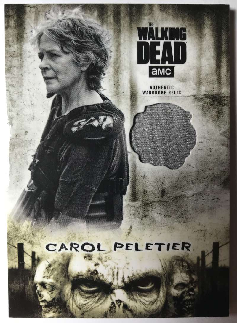 2018 Topps Walking Dead Hunters and the Hunted Costume Relics NonSport #NNO Carol Peletier 1 Jersey/Relic  Official Trading Card