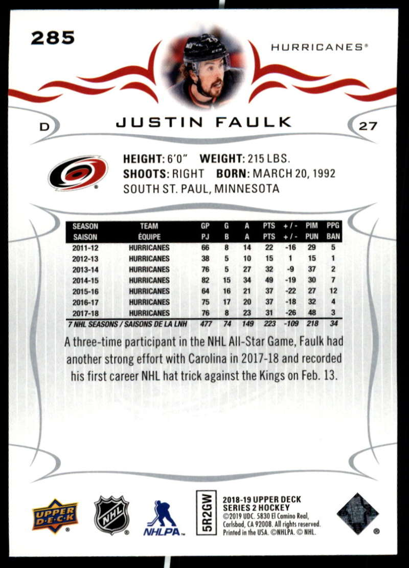 2018-19-Upper-Deck-Series-Two-Hockey-Cards-Pick-From-List-Includes-Young-Guns miniature 69