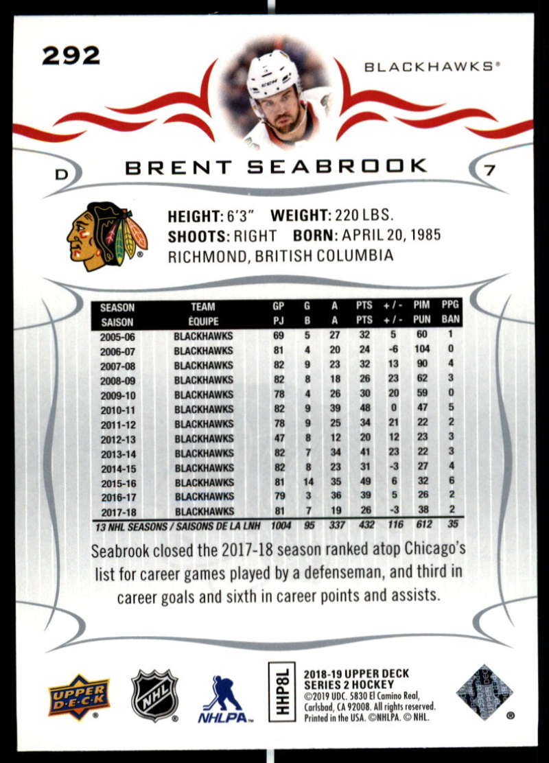 2018-19-Upper-Deck-Series-Two-Hockey-Cards-Pick-From-List-Includes-Young-Guns miniature 83