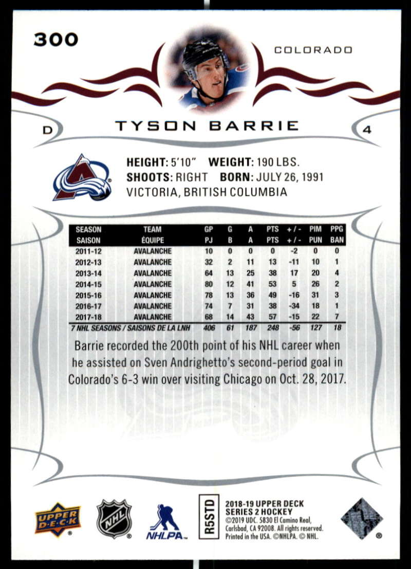 2018-19-Upper-Deck-Series-Two-Hockey-Cards-Pick-From-List-Includes-Young-Guns miniature 95