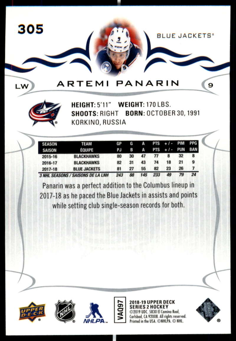 2018-19-Upper-Deck-Series-Two-Hockey-Cards-Pick-From-List-Includes-Young-Guns miniature 105