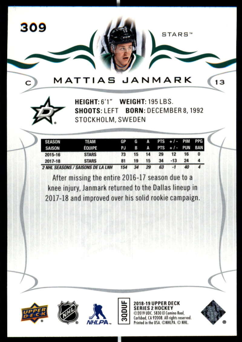 2018-19-Upper-Deck-Series-Two-Hockey-Cards-Pick-From-List-Includes-Young-Guns miniature 113