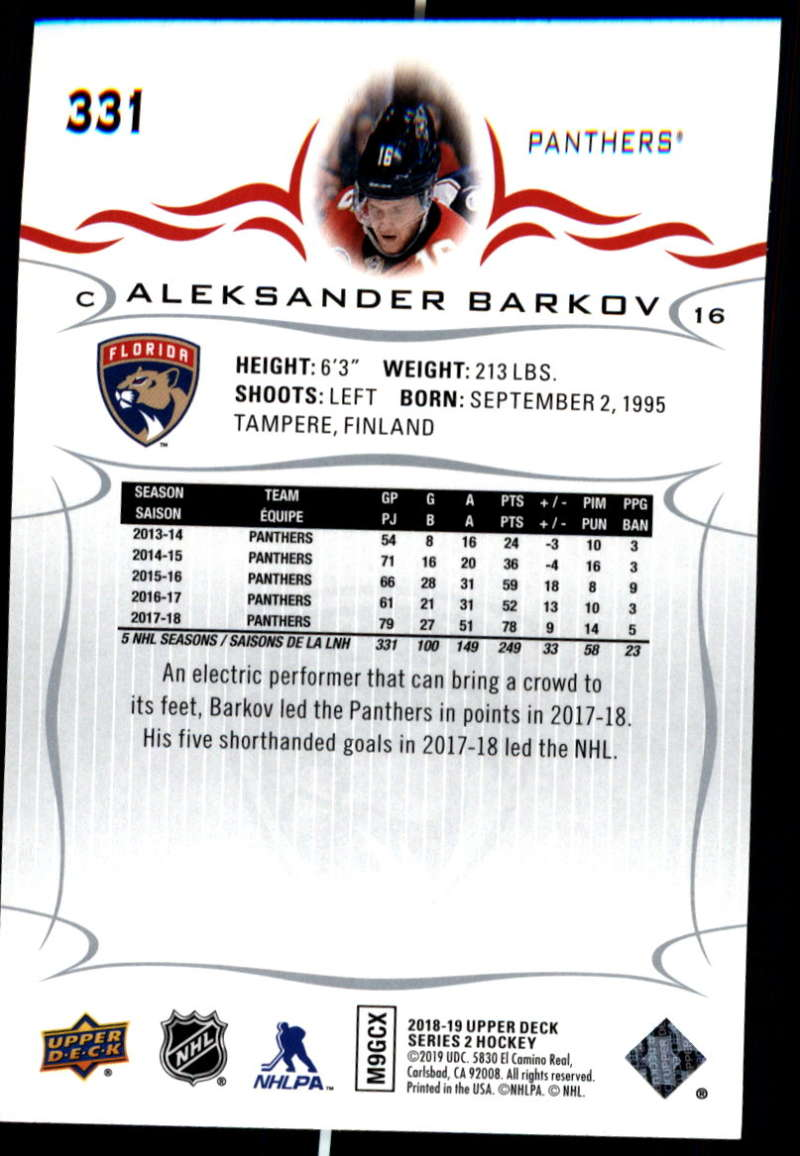 2018-19-Upper-Deck-Series-Two-Hockey-Cards-Pick-From-List-Includes-Young-Guns miniature 157