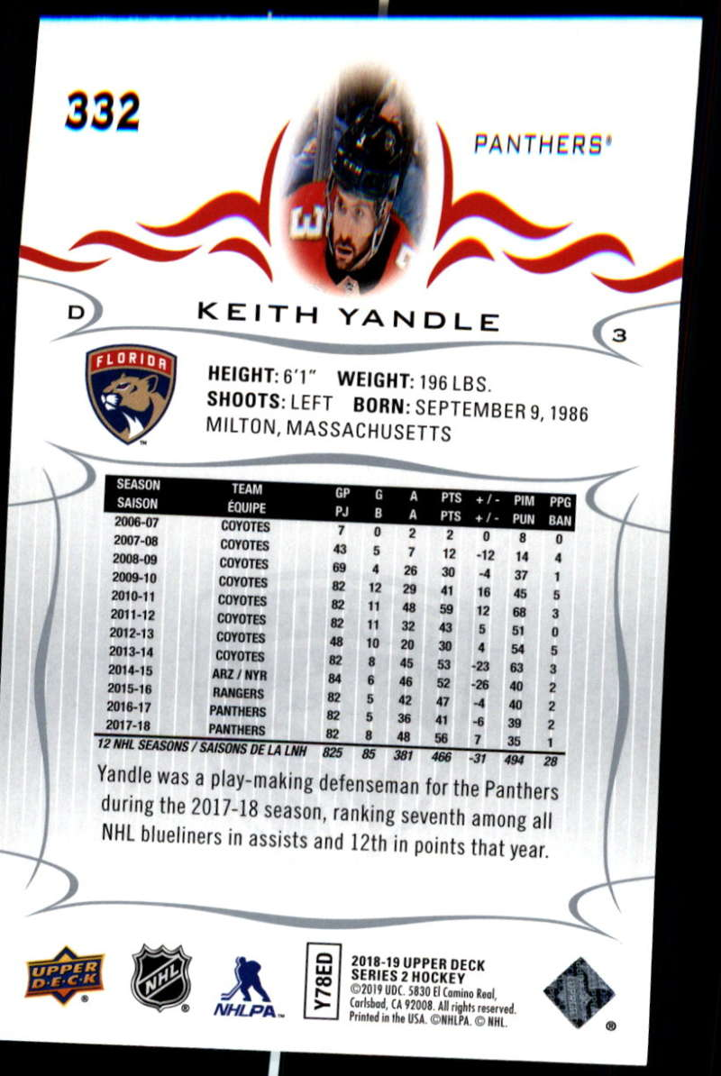2018-19-Upper-Deck-Series-Two-Hockey-Cards-Pick-From-List-Includes-Young-Guns miniature 159