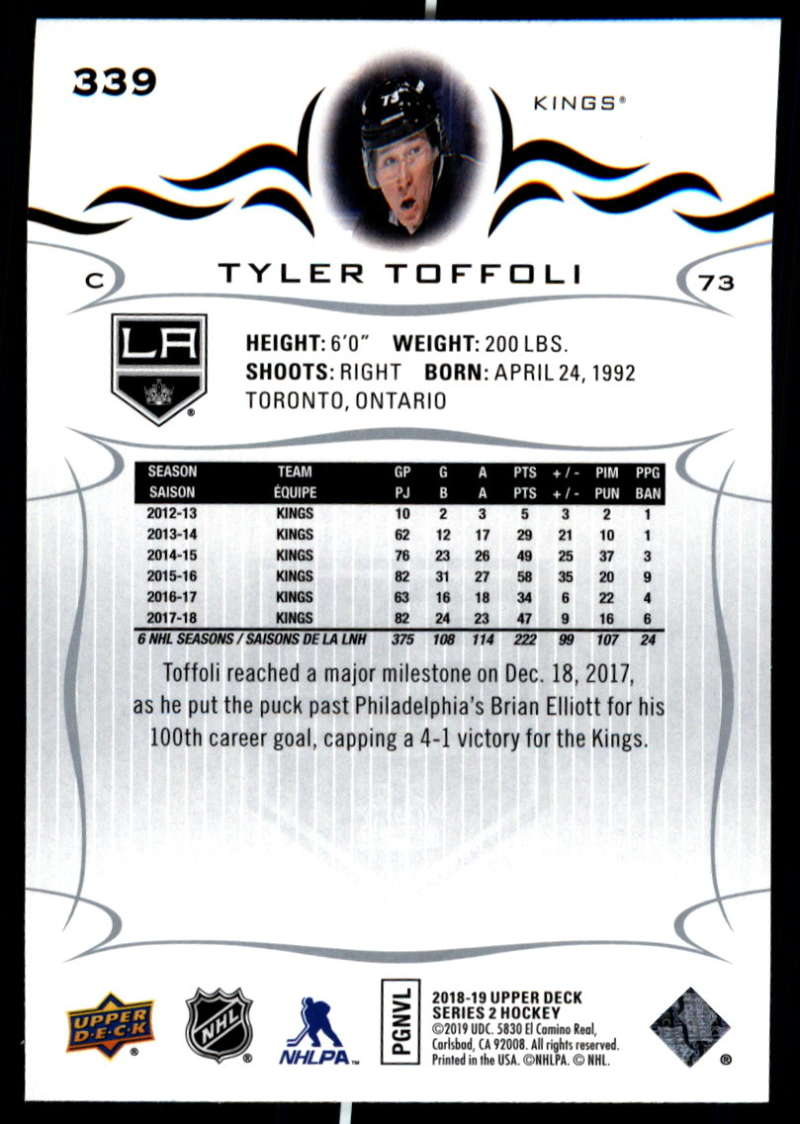 2018-19-Upper-Deck-Series-Two-Hockey-Cards-Pick-From-List-Includes-Young-Guns miniature 173