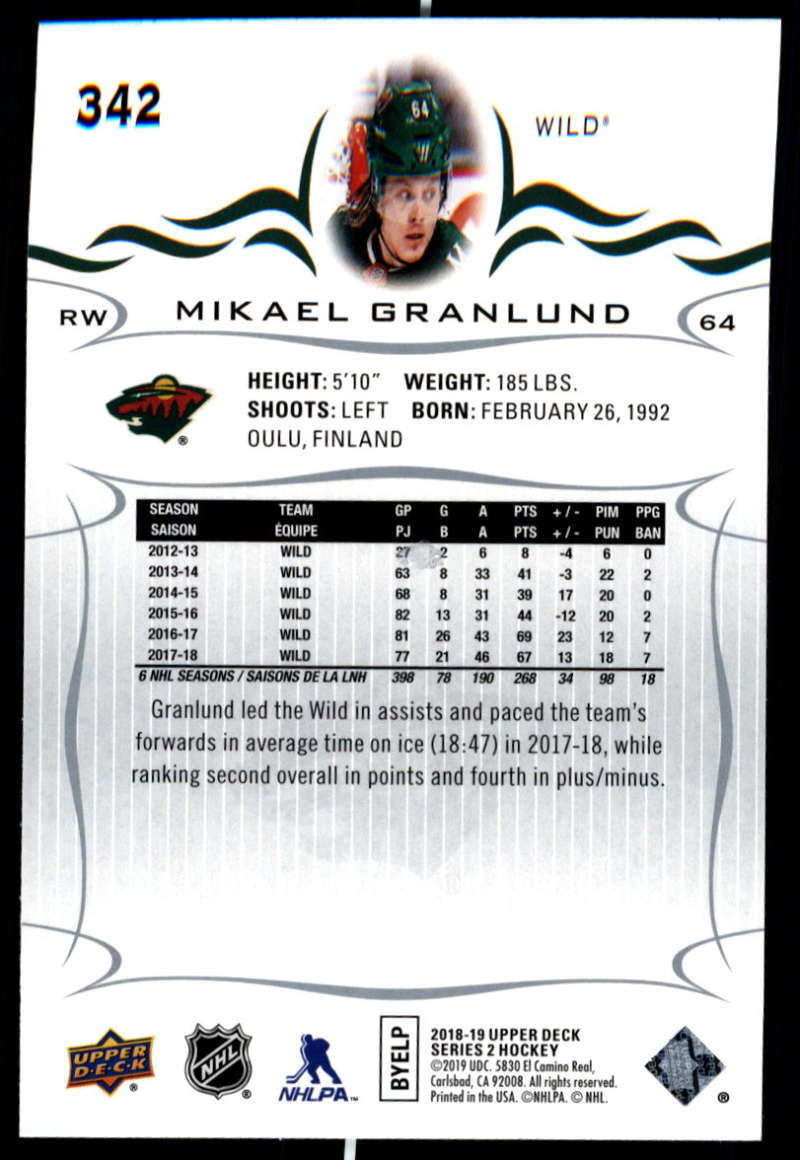 2018-19-Upper-Deck-Series-Two-Hockey-Cards-Pick-From-List-Includes-Young-Guns miniature 179