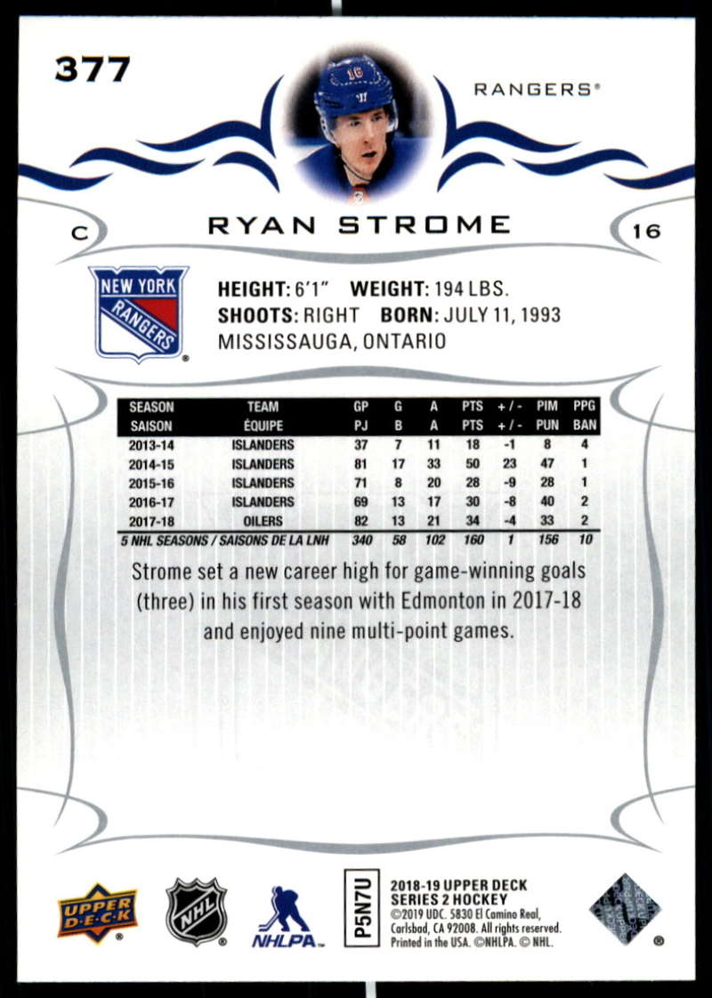 2018-19-Upper-Deck-Series-Two-Hockey-Cards-Pick-From-List-Includes-Young-Guns miniature 249