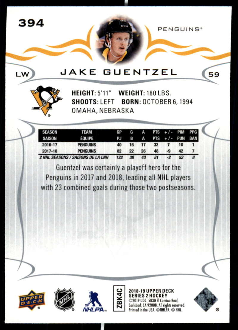 2018-19-Upper-Deck-Series-Two-Hockey-Cards-Pick-From-List-Includes-Young-Guns miniature 283
