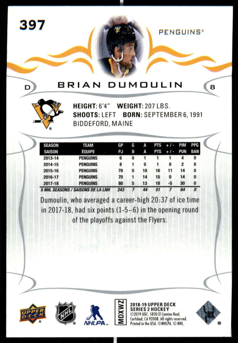 2018-19-Upper-Deck-Series-Two-Hockey-Cards-Pick-From-List-Includes-Young-Guns miniature 289
