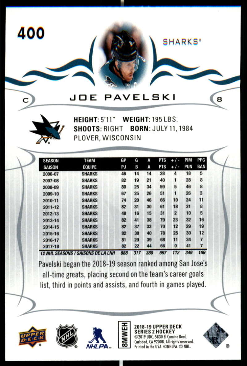 2018-19-Upper-Deck-Series-Two-Hockey-Cards-Pick-From-List-Includes-Young-Guns miniature 295