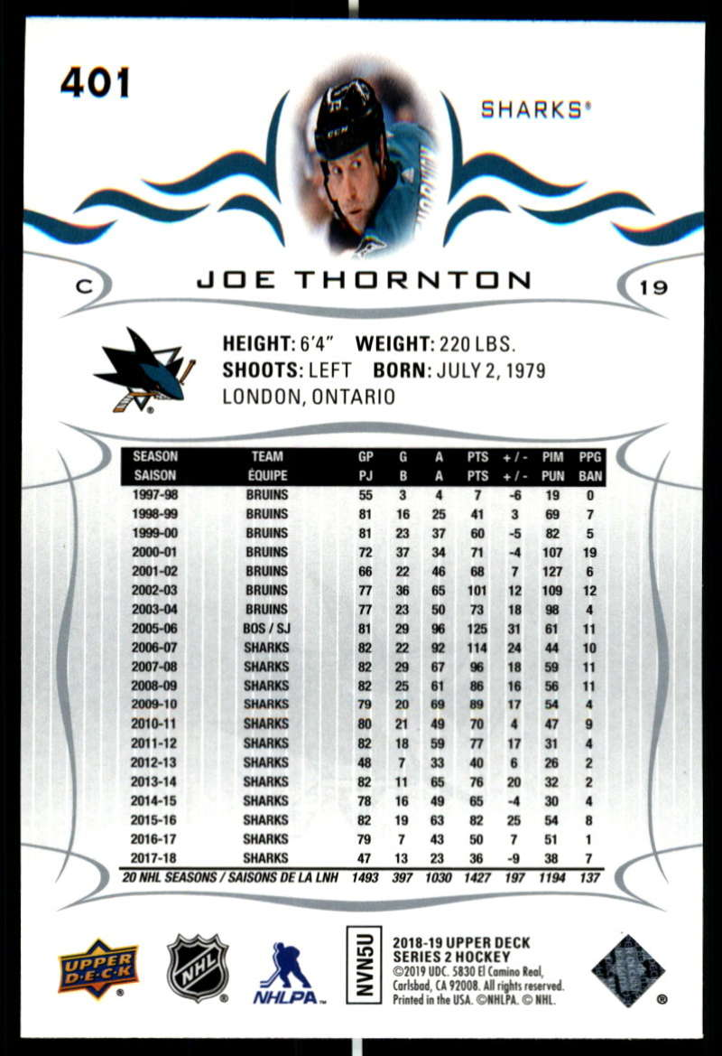 2018-19-Upper-Deck-Series-Two-Hockey-Cards-Pick-From-List-Includes-Young-Guns miniature 297
