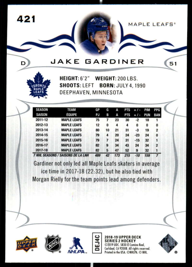 2018-19-Upper-Deck-Series-Two-Hockey-Cards-Pick-From-List-Includes-Young-Guns miniature 335