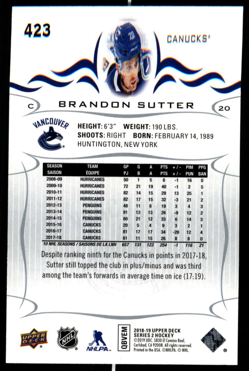 2018-19-Upper-Deck-Series-Two-Hockey-Cards-Pick-From-List-Includes-Young-Guns miniature 339