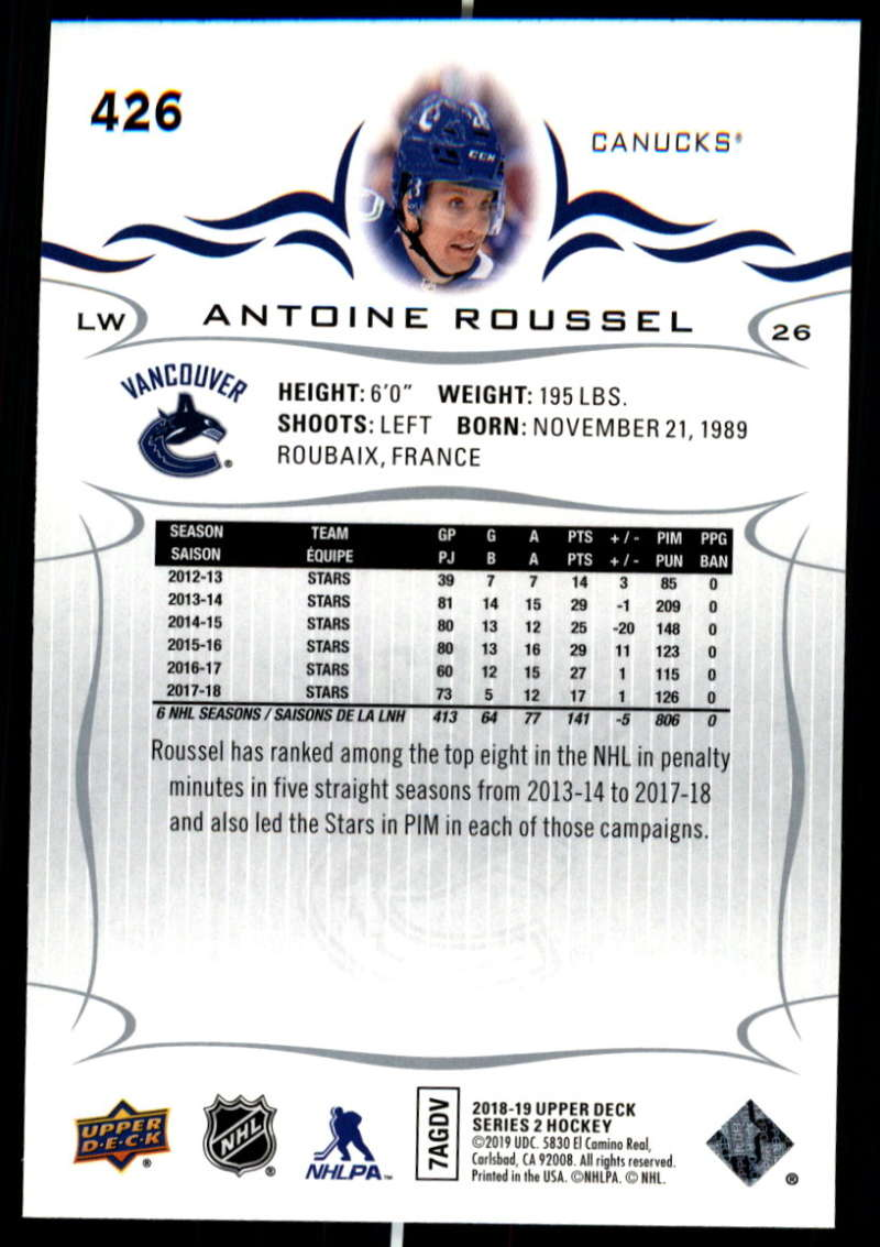 2018-19-Upper-Deck-Series-Two-Hockey-Cards-Pick-From-List-Includes-Young-Guns miniature 345